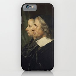 Jan de Bray - Portrait of the Artist's Parents iPhone Case