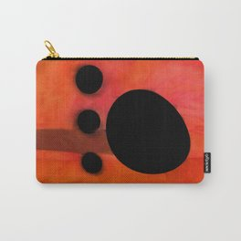 """""""Abstract city sunset"""" Carry-All Pouch"""