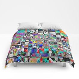Mosaic Mountain Comforters