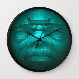 Olmeca III. Wall Clock
