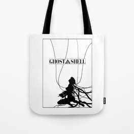 Ghost In The Shell (w/ Frame) Tote Bag