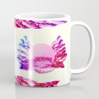 native american Mugs featuring Native American Indian Pattern by Pepita Selles