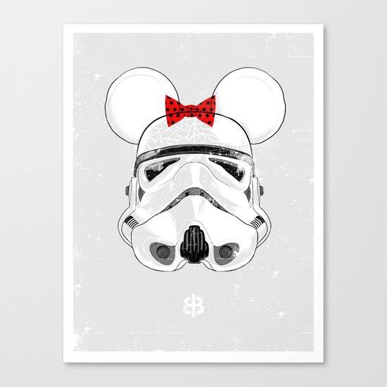 Salt — Mini Trooper Canvas Print