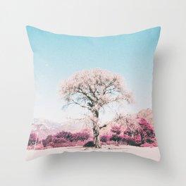 ALONE Throw Pillow