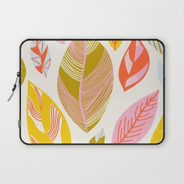 Timberlee, modern autumn leaves Laptop Sleeve