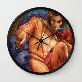 Faust's Friend Wall Clock
