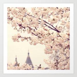 A Dream in Bloom Art Print