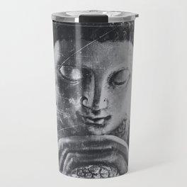 Buddha Grunge Travel Mug