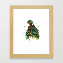 Nature's Lady Framed Art Print