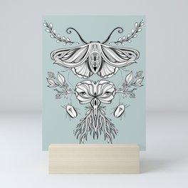 Black Mirror - Moss Mini Art Print