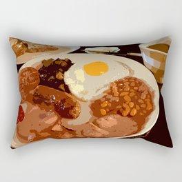 A PROPER BREKKIE Rectangular Pillow