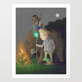 The Adventurers Art Print