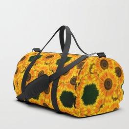 Spinning Sunflowers Duffle Bag