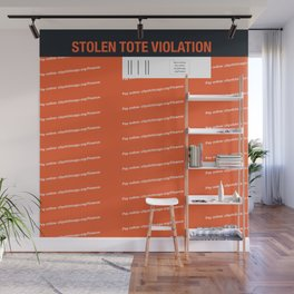 Stolen Chicago Tote Wall Mural