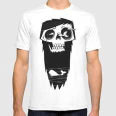 Ghost of a Whaler Mens Fitted Tee MEDIUM White