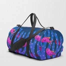 Purple queen anthias Duffle Bag