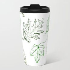 Leaves (greens) Travel Mug