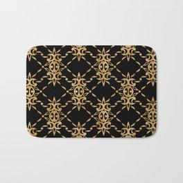 Classique Art Deco Luxury Pattern Bath Mat