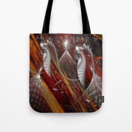 From Within Optical Illusion Art Tote Bag