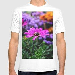 Sunnny pink flower  T-shirt