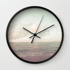 calm day ver.vintage Wall Clock