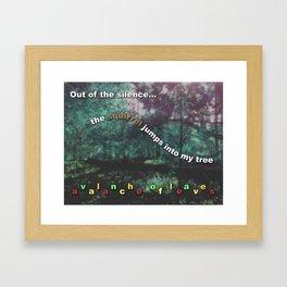 Avalanche of Leaves Framed Art Print