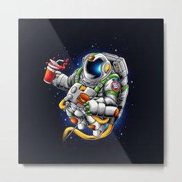Need More Space - Metal Print