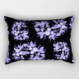 Floral background Rectangular Pillow