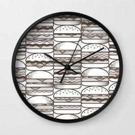 Burgers Wall Wall Clock