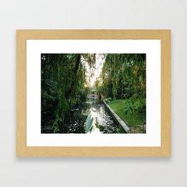 Tiergarten Framed Art Print