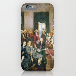 Signing of the United States Constitution 1787 iPhone Case