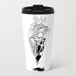 Ocean Heart Travel Mug
