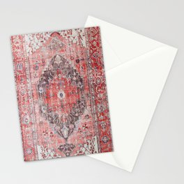 Vintage Anthropologie Farmhouse Traditional Boho Moroccan Style Texture Stationery Cards