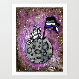 Ace Astronaut Art Print