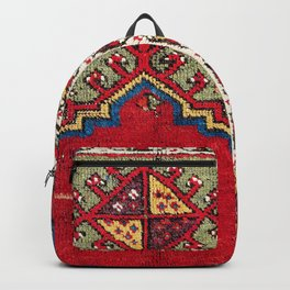 Mujur Central Anatolian Niche Rug Print Backpack