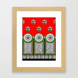 Grecian Holiday  Framed Art Print