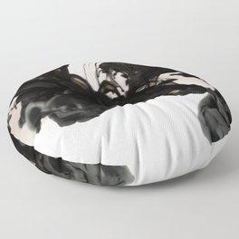 Ink Drop Floor Pillow