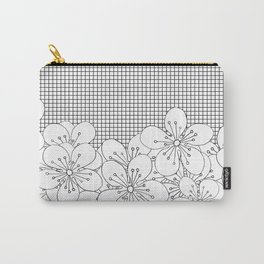 Cherry Blossom Grid - In Memory of Mackenzie Carry-All Pouch
