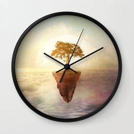 Floating tree Wall Clock