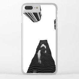 Aqua Tower Clear iPhone Case