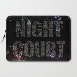 Night Court Laptop Sleeve