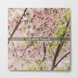 Spring Court Metal Print