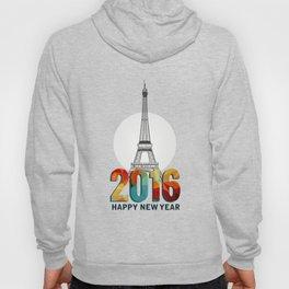 Happy New Year in Paris Hoody