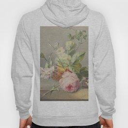 Georgius Jacobus Johannes van Os - Flower arrangement - 1800/1825 Hoody