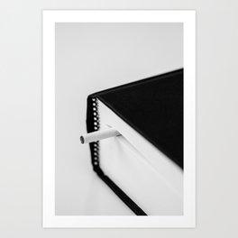 PAUSE Art Print