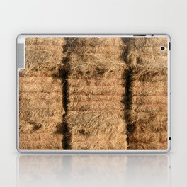 Hay Bales Laptop & iPad Skin