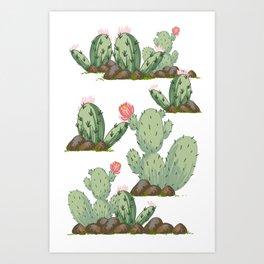 Prickly Pear Art Print