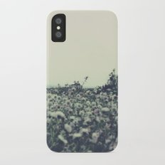 Sicily flowers iPhone X Slim Case