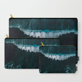 Wave in Motion - Ocean Photography Carry-All Pouch