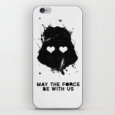 may the force be with us iPhone & iPod Skin